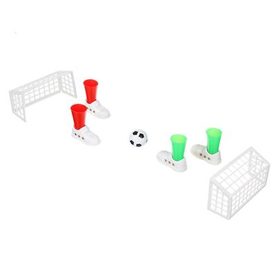 897-063 ИГРОЛЕНД Игра настольная пальчиковый футбол, пластик, 20,5х21х2,8см