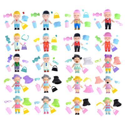 274-149 ИГРОЛЕНД Кукла-сюрприз в банке, пластик, 6,3х11см, 6-12 дизайнов