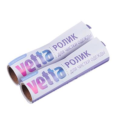 454-008 VETTA Сменный блок для складного ролика для чистки одежды, 2 шт, 20 листов