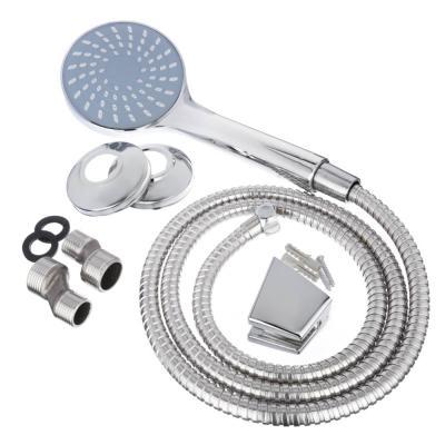 567-078 СоюзКран Смеситель для ванны с длинным изливом SK1033, керам. дивертор, с душ. набором, 40мм, цинк