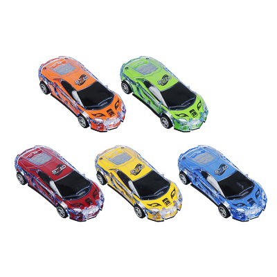 292-194 ИГРОЛЕНД Машина спорткар, пластик, свет, звук, инерция, 3хAG13, 6,5х16х3,5 см