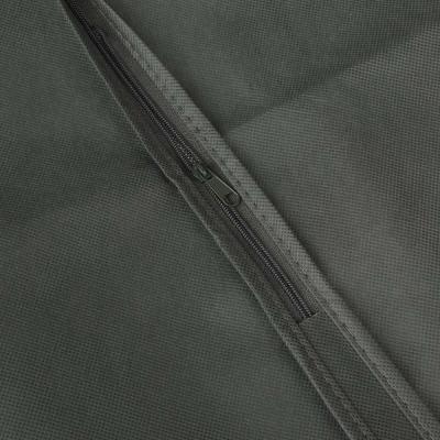 457-503 VETTA Чехол для одежды, 60х137см, спанбонд, ПВХ, 2 цвета