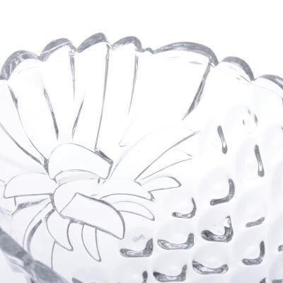 877-610 Noritazeh Ananas Салатник 19см, стекло, под.упак.