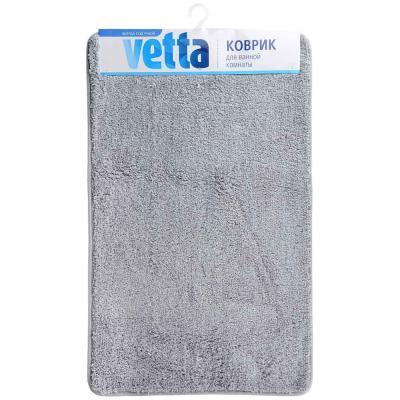 462-674 VETTA Коврик для ванной, микрофибра, 50x80см, 3 цвета