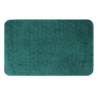 462-676 VETTA Коврик велюровый «Плитка», полиэстер, 35х55 см, 3 дизайна