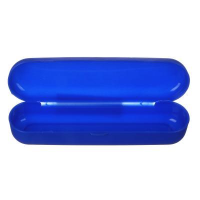 339-075 Футляр для очков, пластик, 15х4см, 6 цветов, ЧО20-08