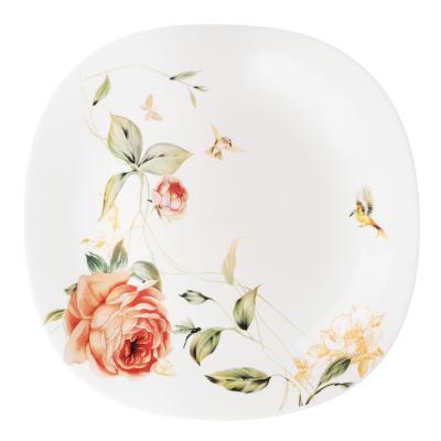 818-456 MILLIMI Анета Набор столовой посуды 13 пр., опаловое стекло, квадратная форма, 19019