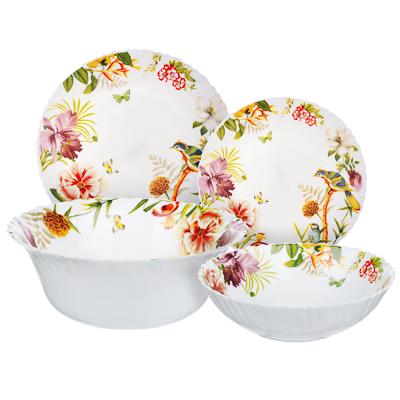 818-570 MILLIMI Рио Набор столовой посуды 19 пр., опаловое стекло, 16194A