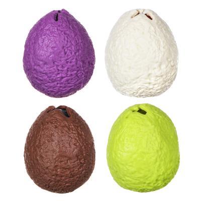 297-068 LASTIKS Яйцо резиновое с фигуркой внутри, резина, 6,5см, 4 дизайна