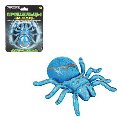 """274-155 ИГРОЛЕНД Игрушка """"Пришельцы на земле"""", превращающаяся в воде, полимер, 9,5х12х4см, 2-4 цвета"""