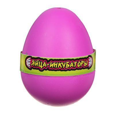 """274-156 ИГРОЛЕНД Игрушка """"Яйца-инкубаторы"""", полимер, 4,5х6х4,5см, 3-12 дизайнов"""