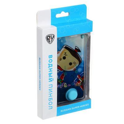 274-157 BY Пинбол водный в виде смартфона, пластик, 13,5х6,5см, 1-3 дизайна