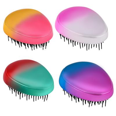 356-794 ЮниLook Расческа массажная, пластик, 8,5х6,5см, 3-4 цвета