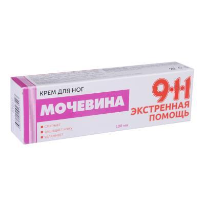 """911-014 Крем для ног """"Мочевина"""", 100 мл"""