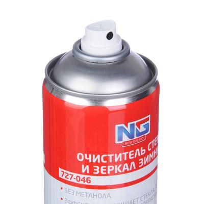 727-046 NEW GALAXY Очиститель стекол ЗИМНИЙ, аэрозоль 520 мл