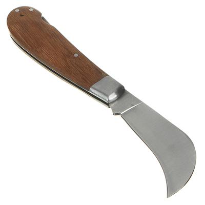 186-030 INBLOOM Нож садовый, 18см, нерж. сталь, дерево