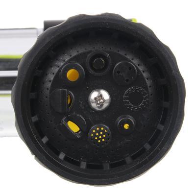 161-011 INBLOOM Пистолет-разбрызгиватель, 8 реж., с емкостью д/удобрений, 100мл, курок с фиксатором, ABS +PP