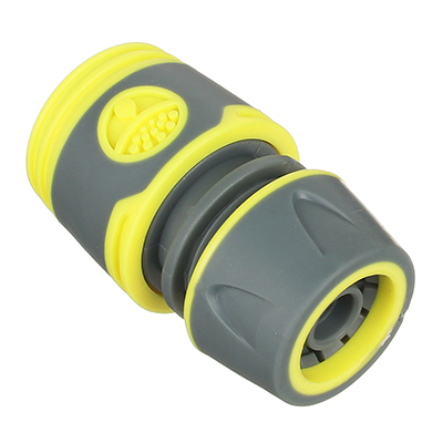 169-028 INBLOOM PROF+ Коннектор быстросъемный для шланга 1/2, обрезиненное покрытие ABS