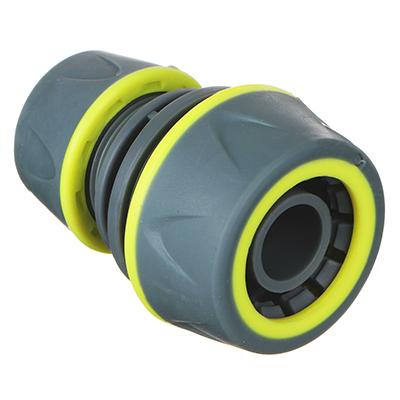 169-032 INBLOOM PROF+ Муфта ремонтная для шланга 1/2,-3/4 обрезиненное покрытие ABS