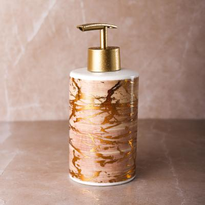 "463-927 VETTA Дозатор для жидкого мыла, ""Модерн"", керамика, 3 цвета"