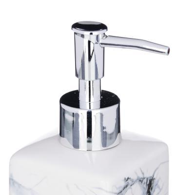"463-933 VETTA Дозатор для жидкого мыла, ""Мрамор"", керамика, 2 цвета"
