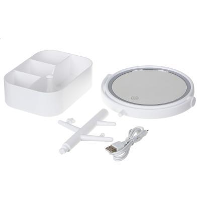 347-092 Зеркало настольное с LED-подсветкой ЮниLook, 32х17 см, 2 цвета