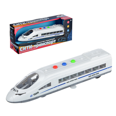 292-198 ИГРОЛЕНД Игрушка в виде локомотива, свет, звук, 3хAG13, пластик, 21х5х4см