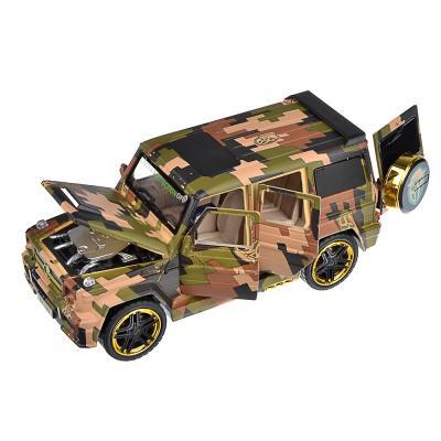 292-200 ИГРОЛЕНД BY Машина внедорожник, премиум, свет, звук, инерция, металл, 21,5х8,5х9см, 2 дизайна