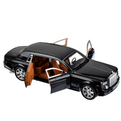 292-201 ИГРОЛЕНД Машина лимузин, премиум, свет, звук, инерция, металл, 20,5х6,5х6см, 2 дизайна