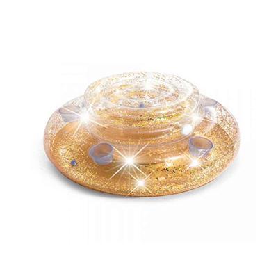 052-004 INTEX Бар плавающий надувной с глиттером для охлаждения напитков, 74x33см, ПВХ, 56810