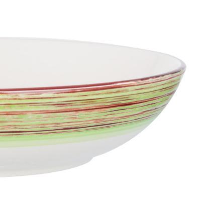 824-379 Африка Салатник 870мл, 20,3х5см, керамика, 3 цвета