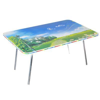 465-210 Столик складной, ДВП, 60х40х30 см, ДВП, металл, 6 дизайнов