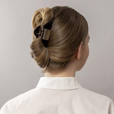 324-148 Краб для волос BERIOTTI, 2 дизайна, 8 см