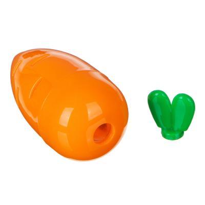 576-013 Точилка для карандашей с контейнером в форме морковки, 7,5x3,3см, пластик