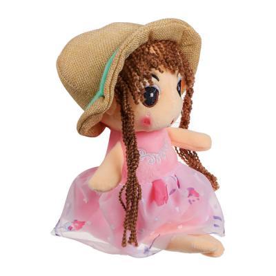 264-232 МЕШОК ПОДАРКОВ Игрушка мягкая в виде куклы, полиэстер, 27-30см, 2 дизайна
