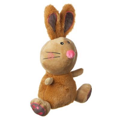 264-235 МЕШОК ПОДАРКОВ Игрушка мягкая в виде зайца, 30см, полиэстер, 2 цвета