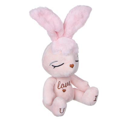 264-236 МЕШОК ПОДАРКОВ Игрушка мягкая в виде зайца, 22-30см, полиэстер, 2 цвета