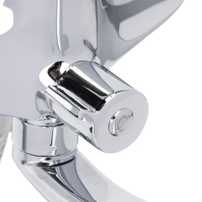 561-278 RAIN Смеситель для ванны Атриа, длинный излив 40см, картридж 40мм, с комплектом для душа, латунь