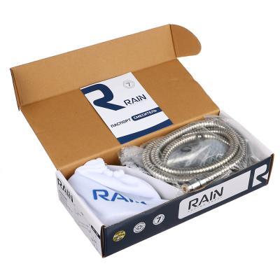 561-281 RAIN Смеситель для кухни Вега, низкий, с выдвижным изливом, картридж 40мм, латунь