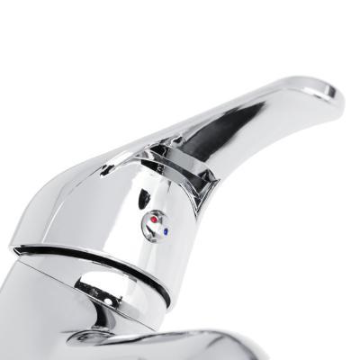 566-384 Набор смесителей для раковины и ванны, короткий излив, без душ. набора, без подводки, 35мм, цинк