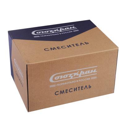 567-080 СоюзКран Смеситель для раковины SK2080, без подводки керам. кран-буксы 1/2, цинк
