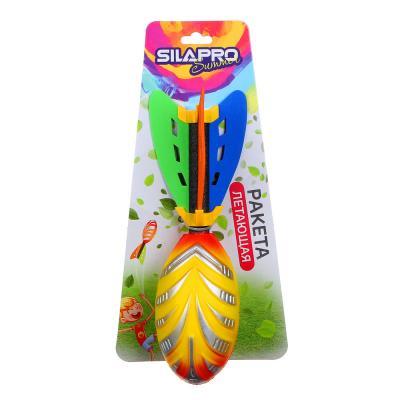 134-144 SILAPRO Ракета летающая мягкая детская, 7,5х24см, PU