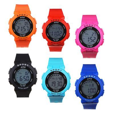 349-586 Часы электронные наручные BERIOTTI, 1х2016, 4-6 цветов