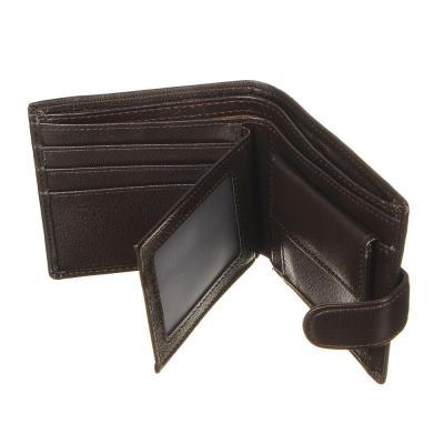 350-056 PAVO Портмоне с отделениями для карт, купюр и монет, ПУ,11,5х9,5х2см, 2 цвета, КМ20-03