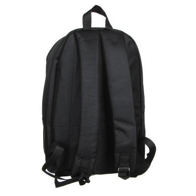 """254-300 Рюкзак подростковый, 41x29x14см, ПЭ, 1 отд, светоотраж.пластик. передняя панель """"хамелеон"""", черный"""