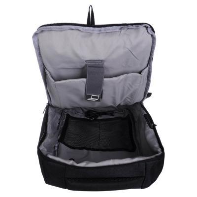 254-356 Рюкзак подростковый, 44x31x10см, 1 отд, 4 карм, полиэстер, спинка с эрг.элементами, темно-серый