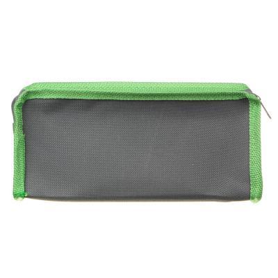 238-188 Варриор Пенал мягкий прямоугольный, 21х9х4,5см, ПЭ, 1 карман, вставка из иск.кожи с печатью