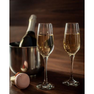 "878-430 Pasabahce набор бокалов для шампанского 2 шт, 210 мл, ""Амбер"""