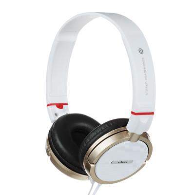 410-025 FORZA Наушники проводные ретро, накладные, поворотные, кабель 120см, пластик, 2 цвета