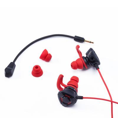 410-035 FORZA Наушники проводные игровые с микрофоном, металл, 130см, пластик